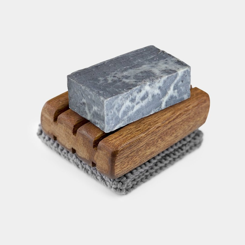 Kinsman Soap, Marbled Charcoal