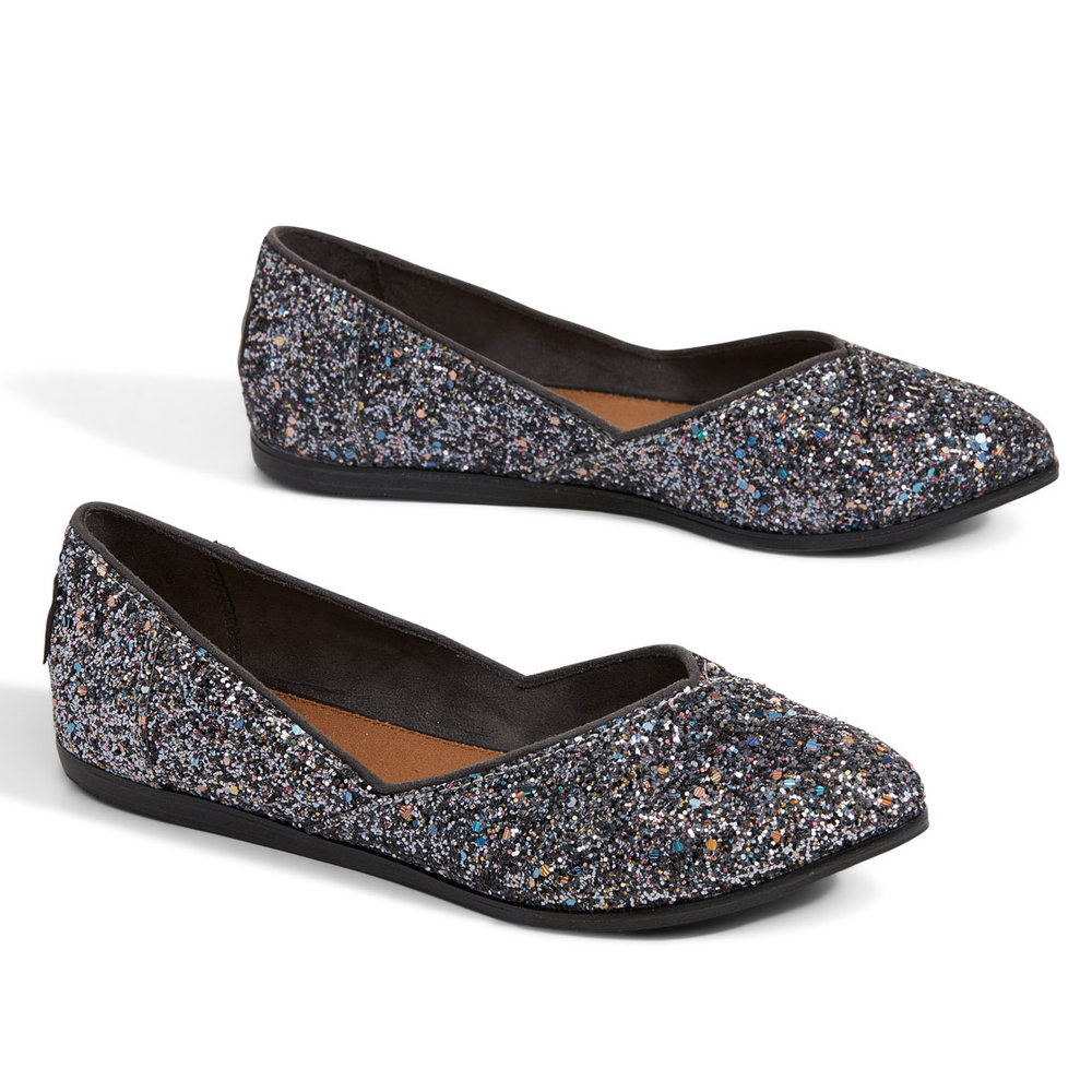 GLITTER PARTY WOMEN'S JUTTI FLATS