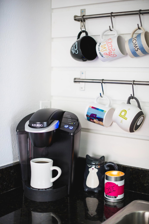 Living Room Coffee Bar