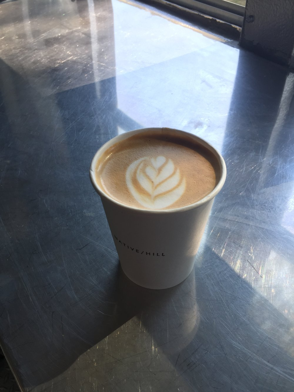 Latte Art - Photo Courtesy of Native Hill