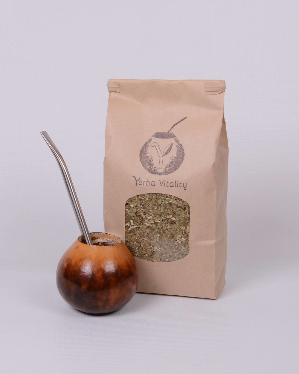 Yerba Mate & Traditional Gourd, Photo courtesy of Corinne Roberts Photography