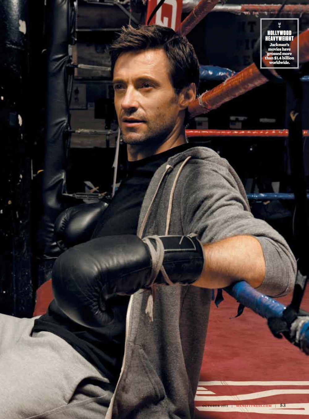 Hugh Jackman - James Fisher