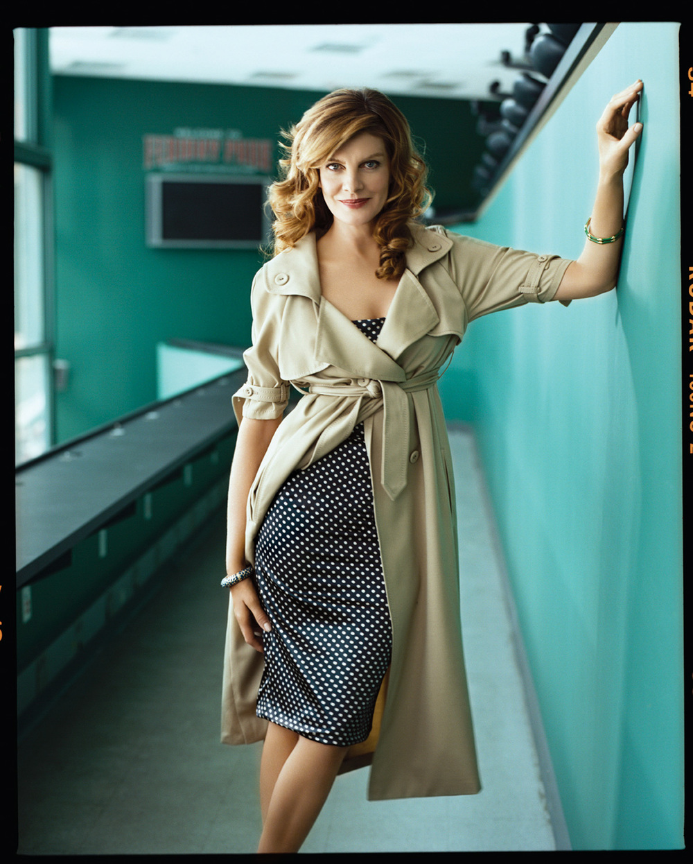 Rene Russo - Jim Wright