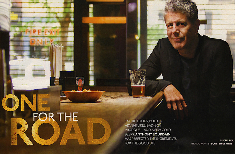 Anthony Bourdain - Scott McDermott