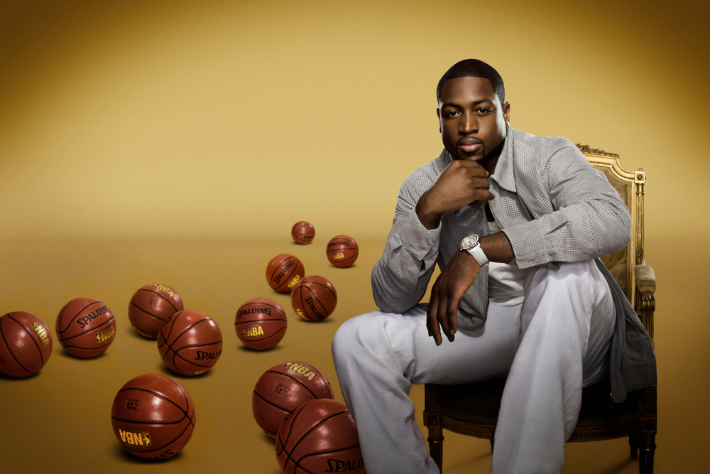 Dwyane Wade - Jim Wright