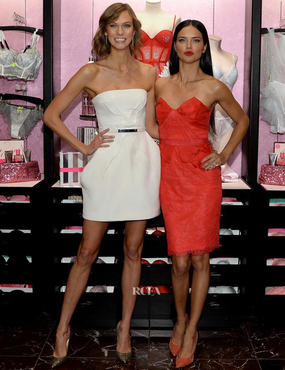 Karlie Kloss & Adriana Lima