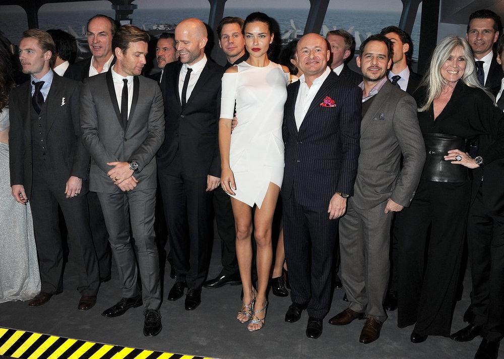 Adriana Lima Dressing - IWC Gala