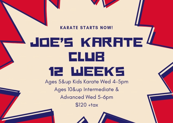 Joe's karate