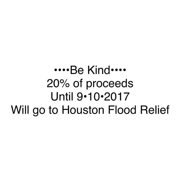 Keep shopping! Whim will be donating to a local food bank and shelter in Houston to help directly. Get a head start on holiday or find something to treat yourself! Www.etsy.com/shop/whimlife