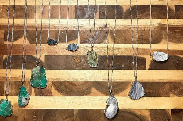 Druzy, Chrysophase, & Labradorite just in time for fall and holiday shopping • 20% of sales through 9/10 go to Houston Flood Food Bank • New styles on Etsy now!