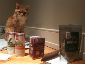 I love Honest Kitchen dry cat food so much, I wrote a letter to the company. They sent me more food.