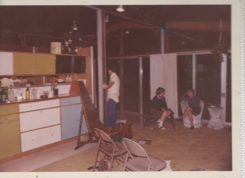 New Year's 1978 Sock Hop party in our Care-Free Home.
