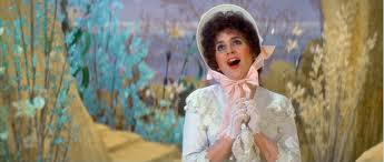 "Linda as Mabel in ""The Pirates Of Penzance,"" singing ""Poor Wandering One"" in the keys of her choice."