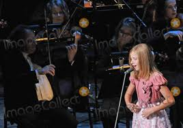 Jackie Evancho: Your curfew is 8pm, 7pm Central.
