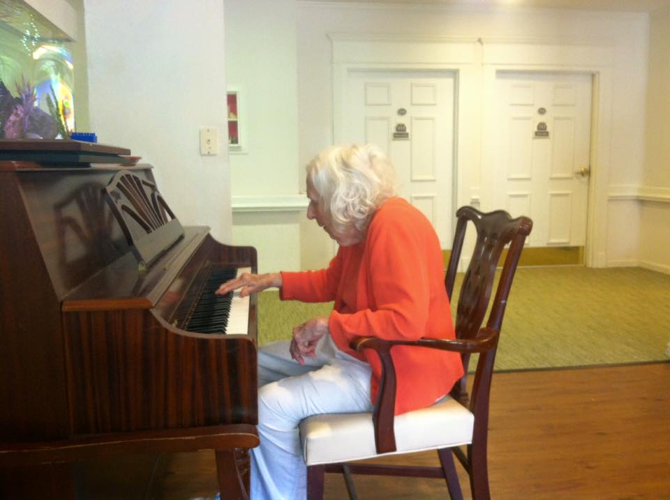 Once a pianist, always a pianist.