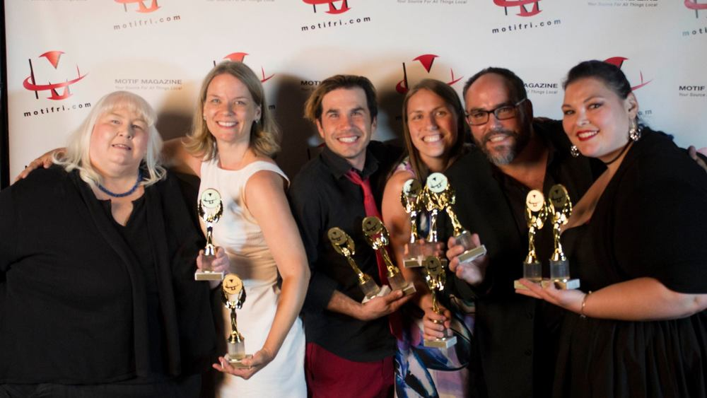 Update: Sweeney Todd won big at the 2016 Motif Magazine RI Theater Awards! Best Musical (Semi-Pro), Best Costume Design (Marissa Dufault), Best Supporting Actress In A Musical (Maggie Papa), Best Supporting Actor In A Musical (Terry Shea), Best Direction (Christopher J. Simpson), Best Musical Direction (Jean Maxon Carpenter), and Best Leading Actress In A Musical (Eden Casteel). Oh, and we also won Best Overall Musical Of The Year! Thanks for your votes!