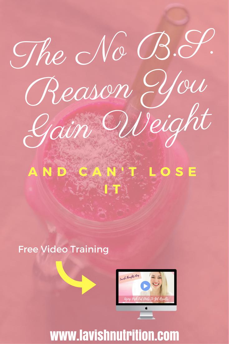 No B.S. Weight loss