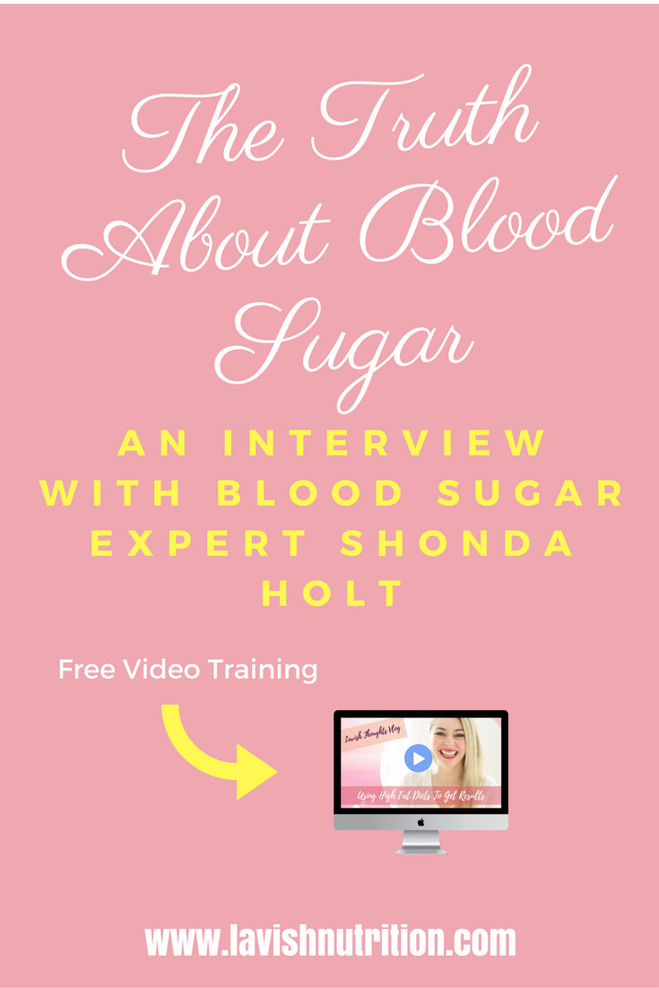 weight loss & blood sugar