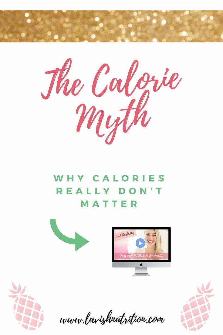 Fat loss and calories