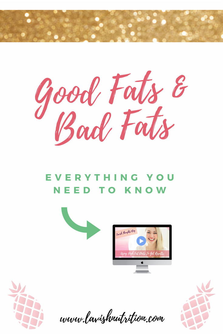 Good fat and bad fat