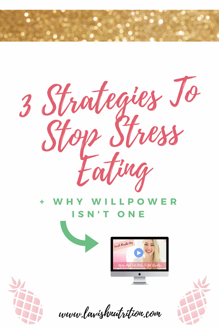 Strategies To Stop Stress Eating