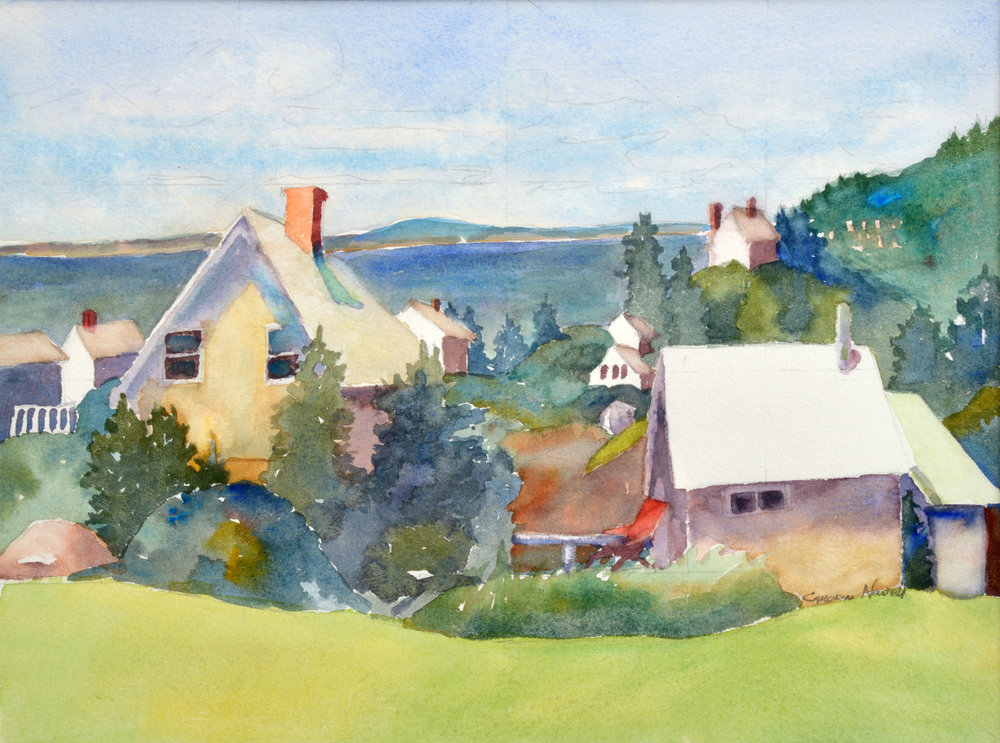 From the Hill, Monhegan