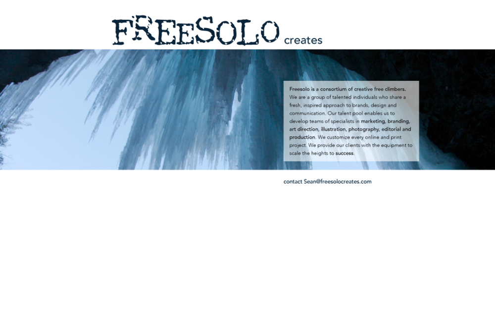 FreeSolo Creates - Website Design