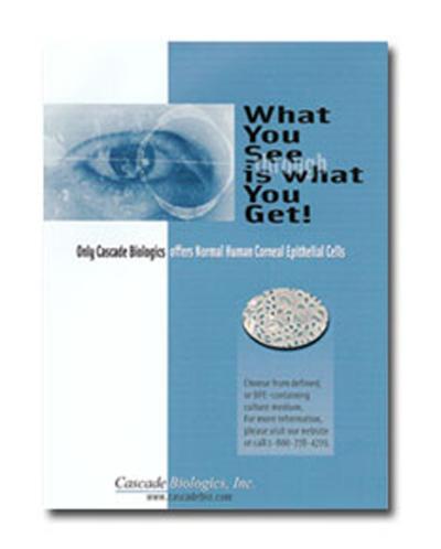 Cascade Biologics - Editorial Adversitement Design