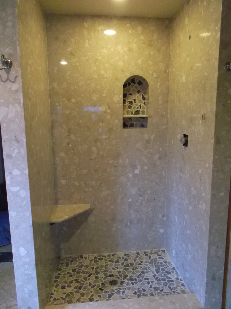 Bath, Shower & Tub — Tops Solid Surface
