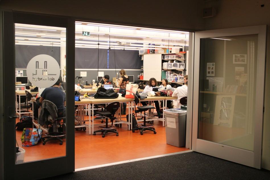The hybrid lab at CCA