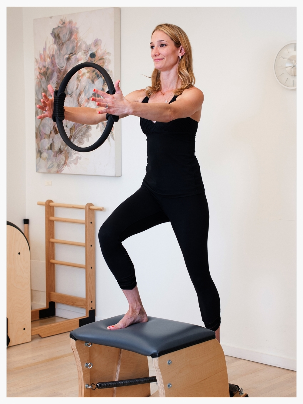 pilates apparatus magic circle wunda chair