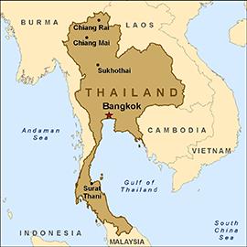 map-thailand