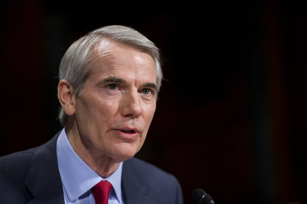 UNITED STATES - JANUARY 27: Sen. Rob Portman, R-Ohio, testifies during the Senate Judiciary Committee hearing on the impact of heroin and prescription drug abuse on Wednesday, Jan. 27, 2016. (Photo By Bill Clark/CQ Roll Call)
