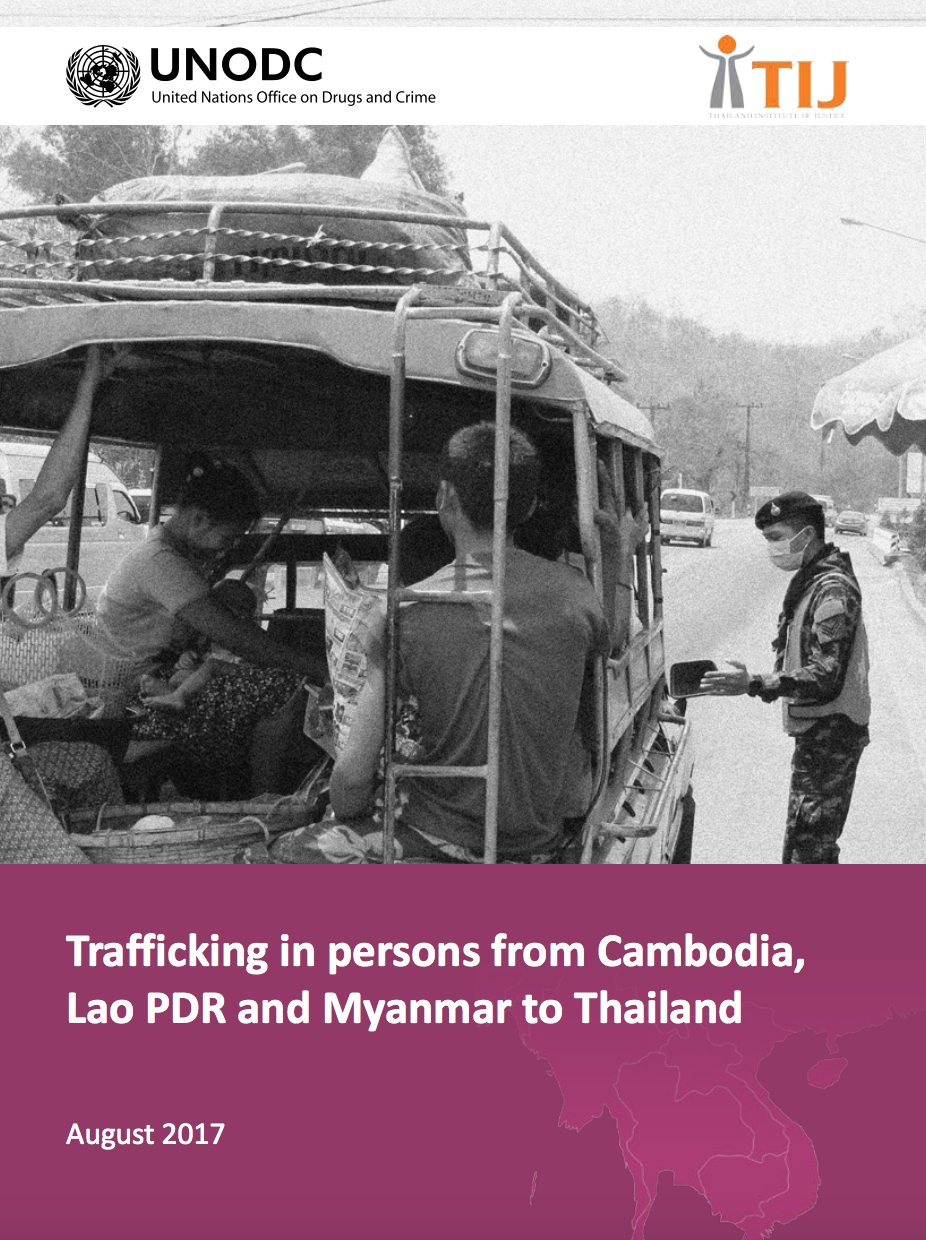 Trafficking in persons from Cambodia to Lao PDR and Myanmar to Thailand -