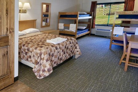 FAMILY BUNK HOUSE | Walnut  $82/night  Sleeps up to 6 people