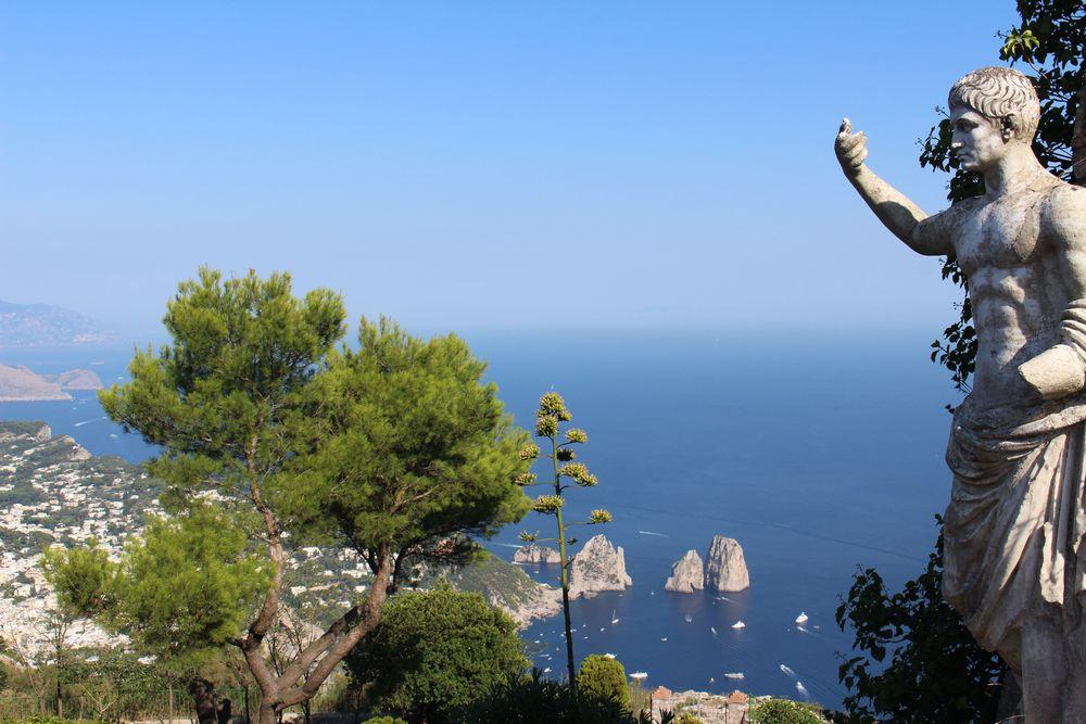 Overlooking Capri