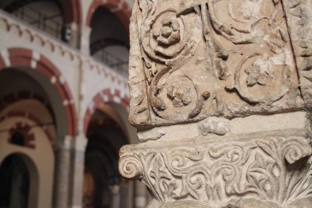 Romanic elements of Sant'Ambrogio Church, Milan