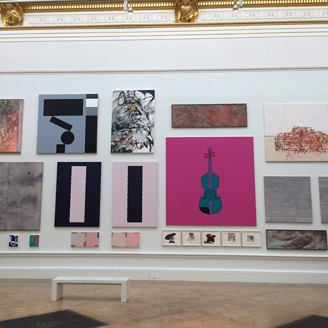 Colour and art #royalacademyofarts