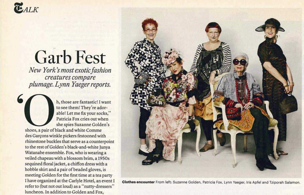 """Garb Fest"" - The New York Times T Magazine"