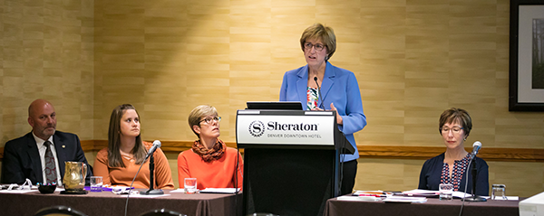 Panel Discussion at the Association of School Business Officials (ASBO) Annual Meeting, Denver, 2017.