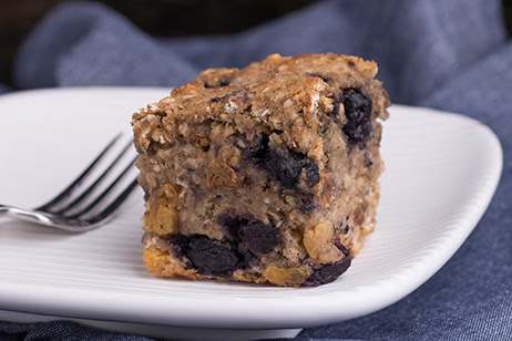 Oatmeal Muffin Squares. Enjoy a breakfast favorite - no spoon needed.    -- Photo credit: USDA Team Nutrition