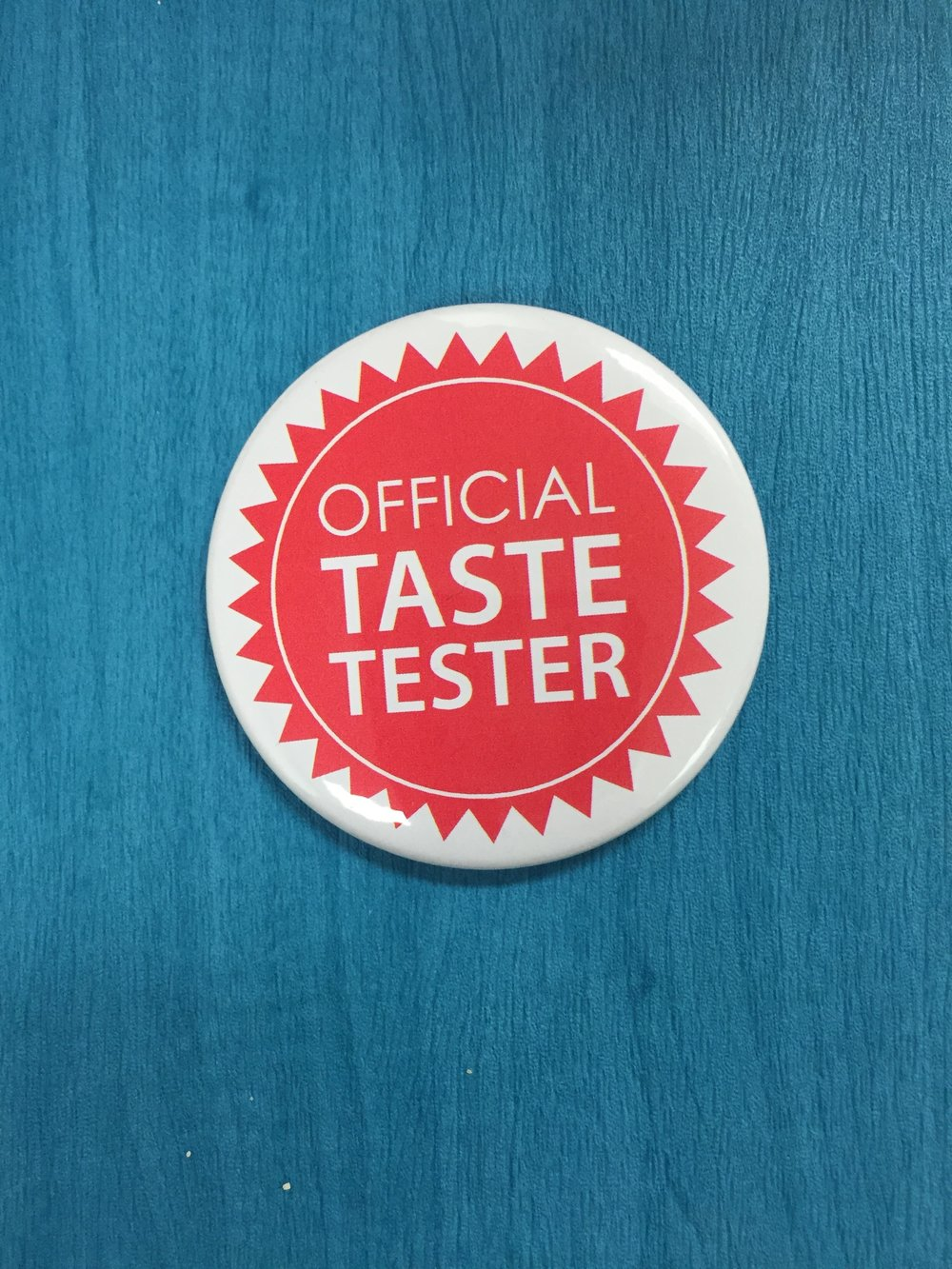 Students were Official Taste Testers.