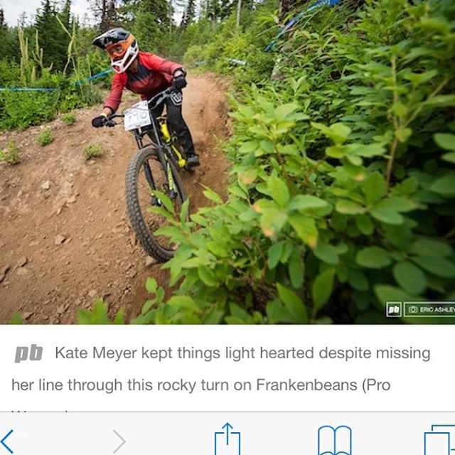 Shop pinner @kate.or.di getting some ❤️ on @pinkbike With each race Kate is getting more and more competitive, learning, and absolutely ripping 🤘🏻 #Konabikes #kona #i9sports #deity #deitybikes #deityblood #bendcyclery #teambendcyclery #pinkbike #norco #norcobicycles #maxxis #tldbike #tld #fox #foxproframe #rockshox #sram #pnwonderland #pnw #localbikeshop #cushcore