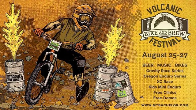 Come join us the weekend of August 25th thru the 27th for beers and dowhill fun! We will be raffling of a 2018 Rock Shox Revalation,  Winner doesn't need to be present to win.  #comebikewithus #mtbachelorbikepark  #mtbachelor #bikesandbrews #localbikeshop #lovemybike