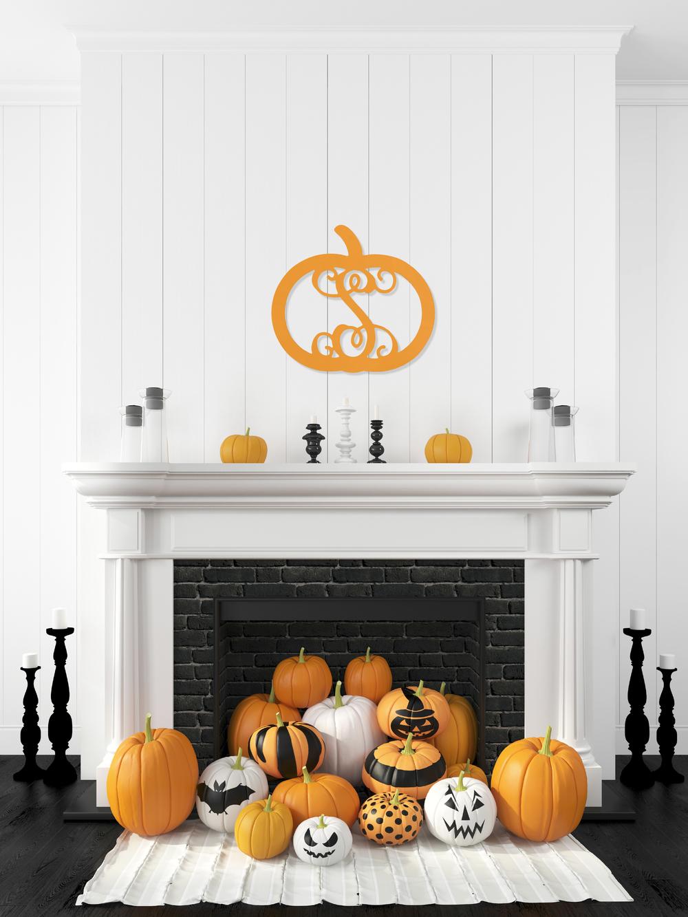 Pumpkin Wooden Monogram Fireplace.jpg