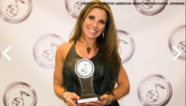 Courtesy of Native American Music Awards/ Carol Johnson