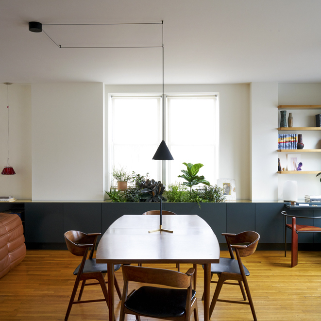 Architectural Digest   A Few Tweaks Took This Brooklyn Apartment from Good to Great