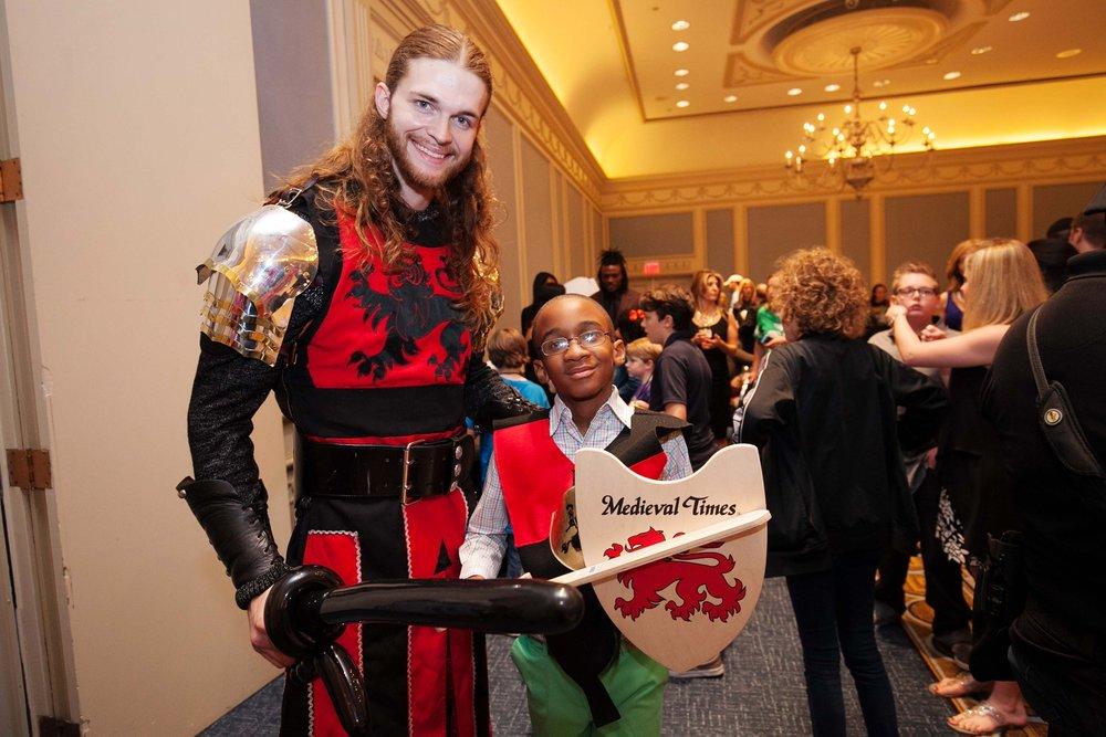 Medieval Times Red Knight Ryan Palguta, Keamus Bryant by Hiram Trillo.jpg