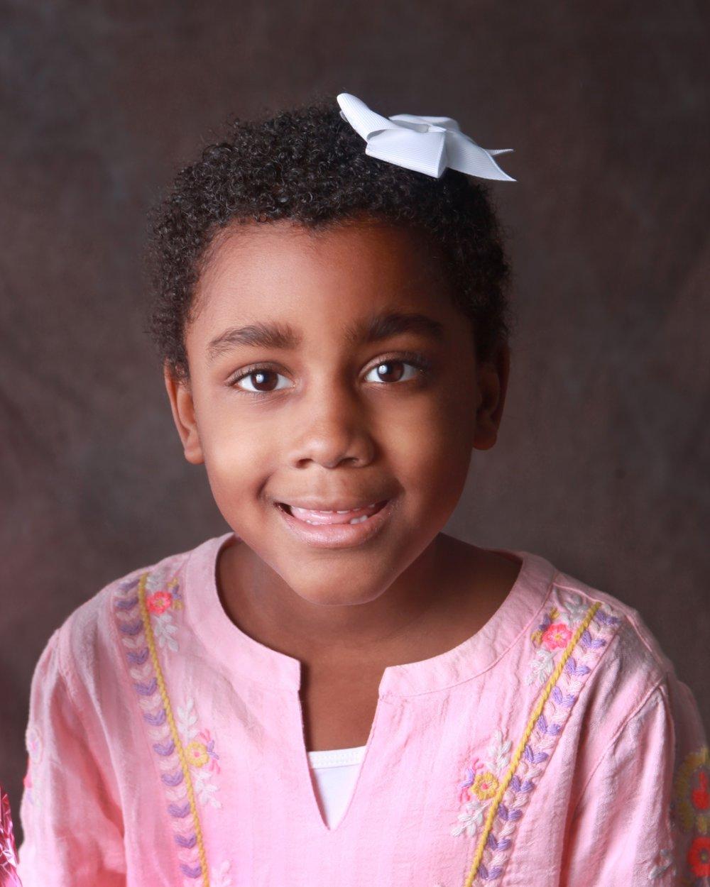 Caroline Olaleye, 6, Frisco