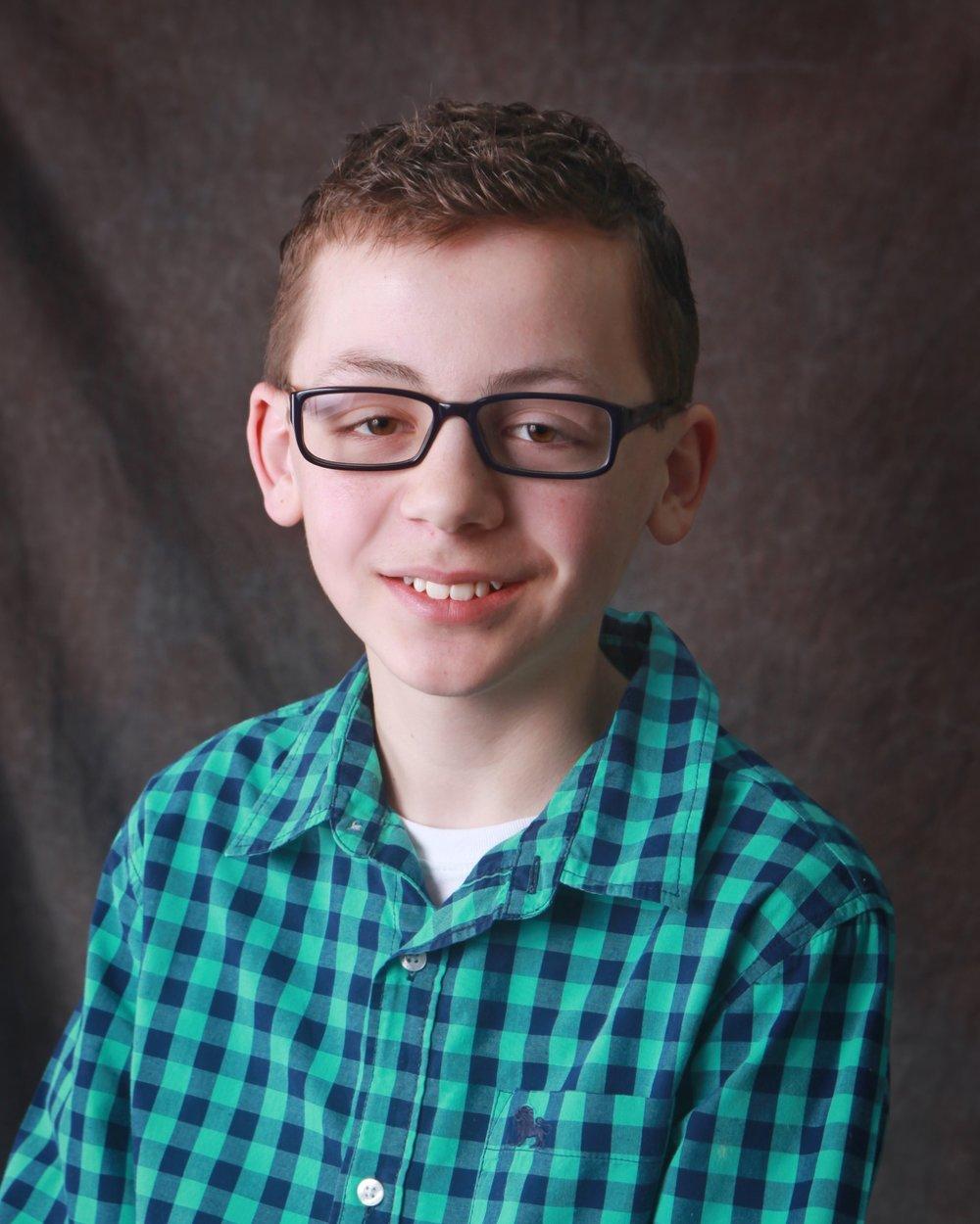 Tanner Vea, 13, JOsephine